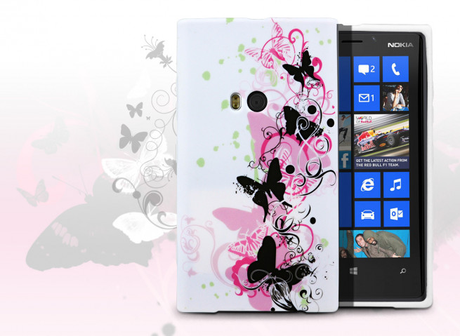 Coque Nokia Lumia 920 Butterfly Flex