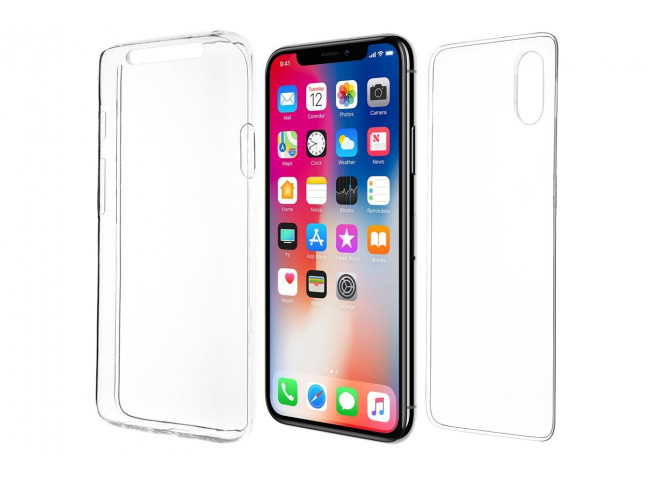 Coque iPhone X/XS Fusion S intégrale Qdos