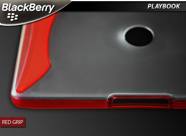 "Coque BlackBerry PlayBook ""Red Grip"""