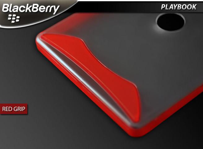 "Coque BlackBerry PlayBook ""Red Grip"""