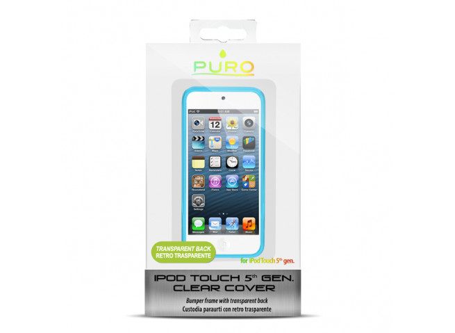 Coque iPod Touch 5 Clear Cover by Puro