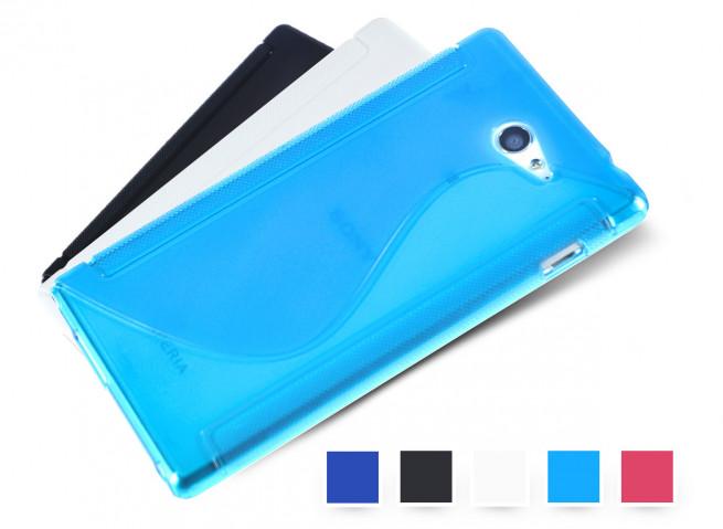 Coque Sony Xperia M2 Silicone Grip