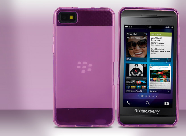 Coque Blackberry Z10 Flex Color