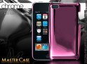 "Coque iPod Touch 4 ""Chrome Case""-rose"