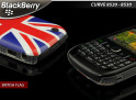 coque british blackberry 8520
