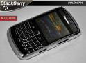 "Coque Blackberry Bold 9700 ""Neo Chrome"" Silver"