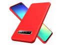 Coque Samsung Galaxy S10 Red Matte Flex