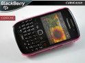 Coque Blackberry Curve 8520 Clear Case Rose Translucide