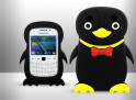 Coque Blackberry 9220/9320 - Pingouin Bow