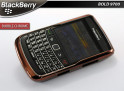 "Coque BlackBerry Bold 9700 ""Bubble Chrome""-Cuivre"