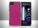 Coque Blackberry Z10 Luxury Leather