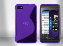 Coque Blackberry Z10 Silicone Grip Color