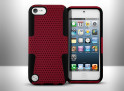 Coque iPod Touch 5 Rubber Hybrid