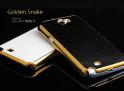 Coque Galaxy Note 2 Golden Snake