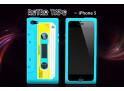 Coque iPhone 5 bleu turquoise