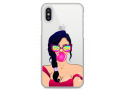 Coque iPhone XR Pop brune girl