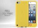 Coque iPod Touch 5 jaune