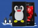 Coque LG Optimus L3 Pingouin