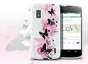 Coque LG Nexus 4 Butterfly Flex