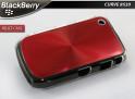 "Coque BlackBerry Curve 8520 ""Relief Case""-Rouge"