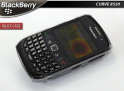 "Coque BlackBerry Curve 8520 ""Relief Case""-Rose"