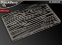"Coque BlackBerry PlayBook ""Wave Flex""-Noir translucide"