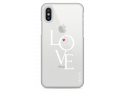 Coque iPhone X Love is all you need