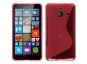 Coque Microsoft Lumia 640 XL Silicone Grip-Rose