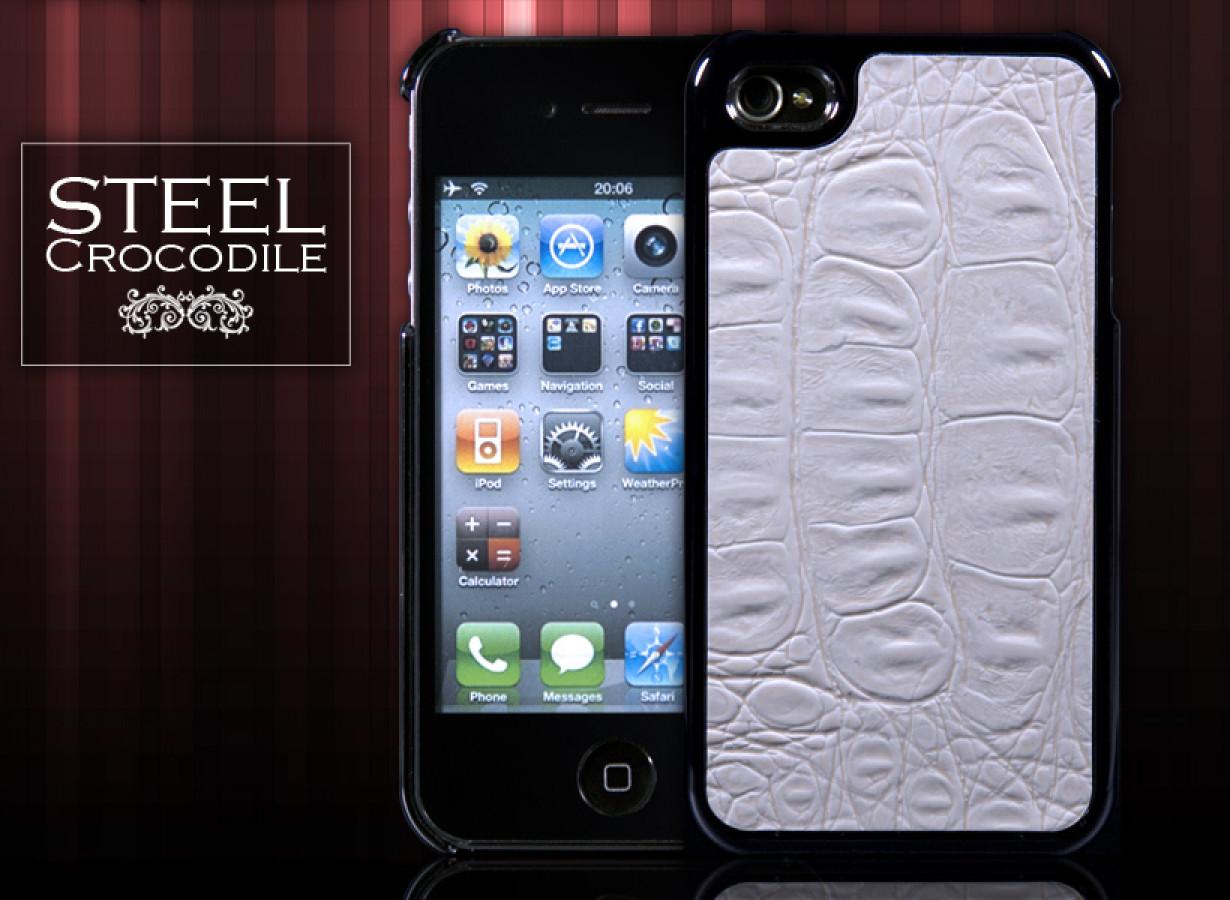 coque pour iphone 4 steel crocodile. Black Bedroom Furniture Sets. Home Design Ideas