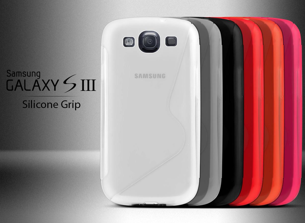 Coque Galaxy S3 Silicone Grip