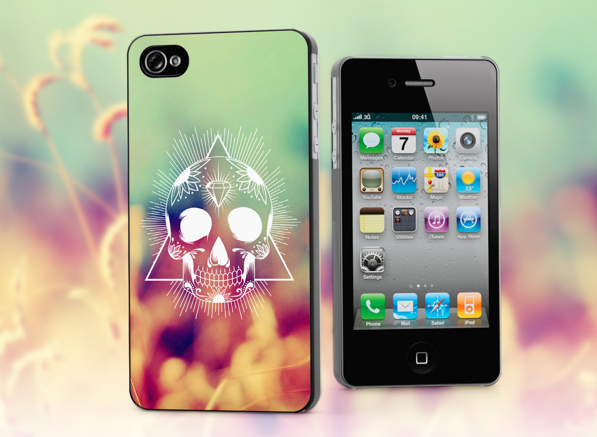 coque iphone 4 4s skull swag. Black Bedroom Furniture Sets. Home Design Ideas