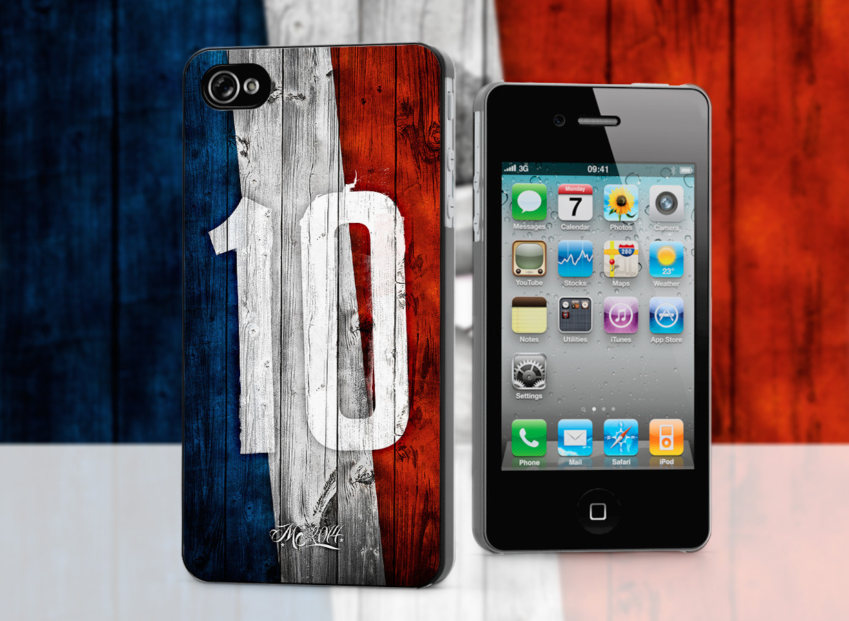 coque iphone 4 4s coupe du monde 2014 france. Black Bedroom Furniture Sets. Home Design Ideas