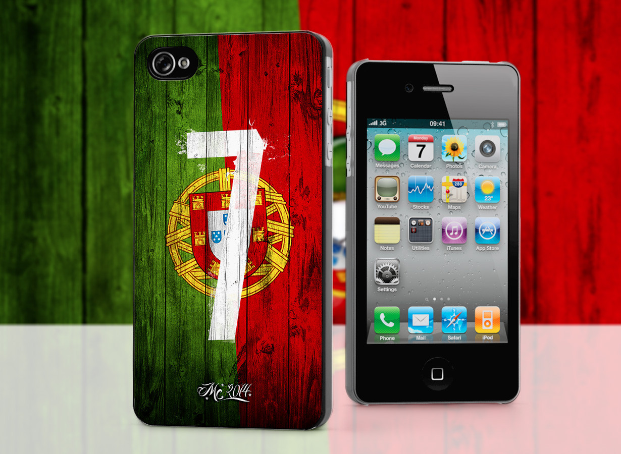 coque iphone 4 4s coupe du monde 2014 portugal. Black Bedroom Furniture Sets. Home Design Ideas