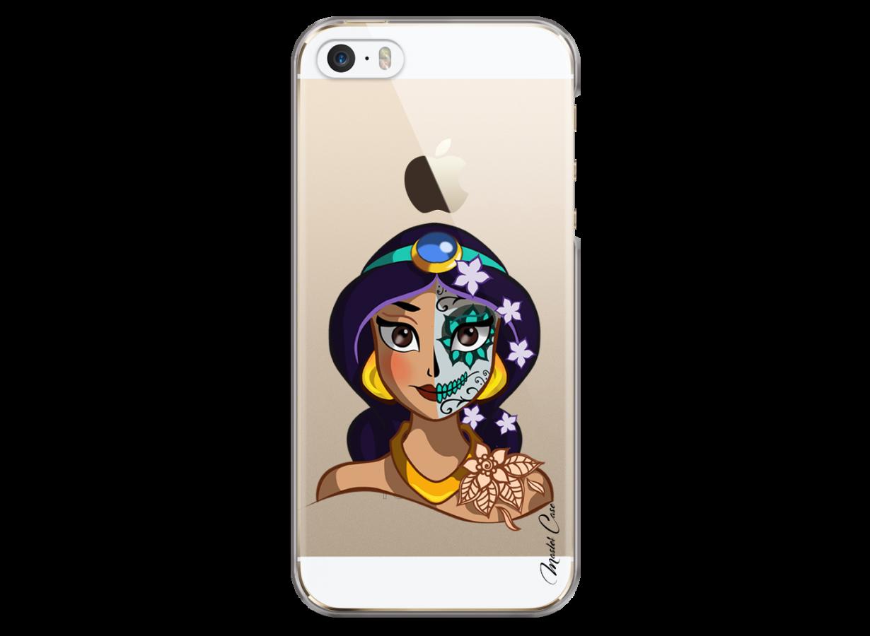 Coque iPhone 5/5s/SE Jasmine walt Disney face design