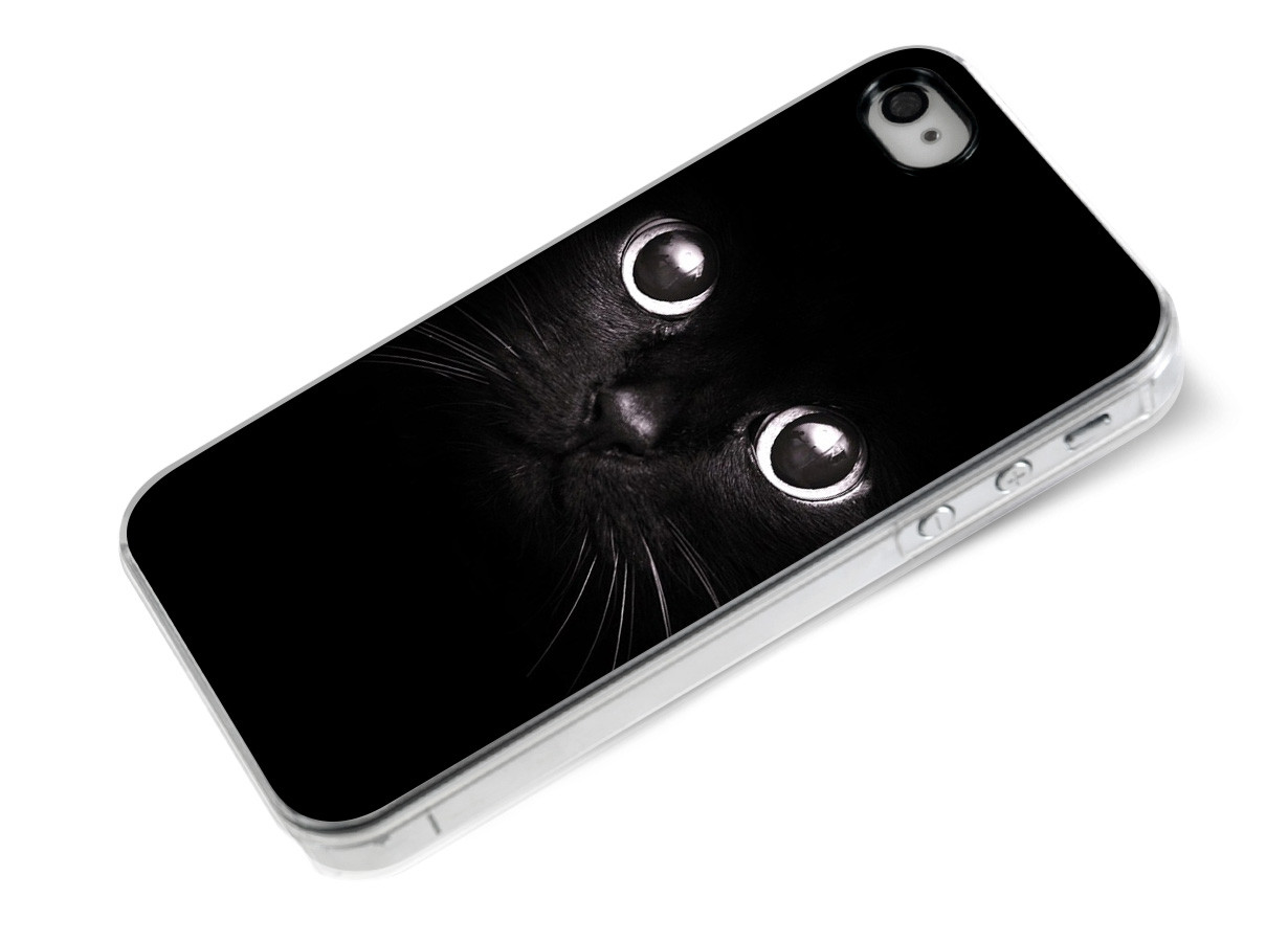 coque iphone 7 chat noir