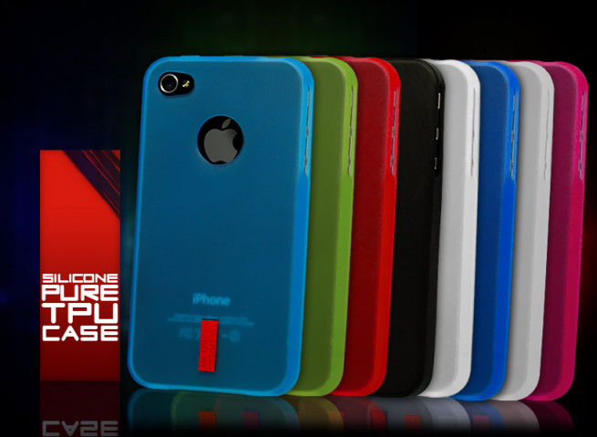 Coque iPhone 4/4S Silicone Pure TPU Case