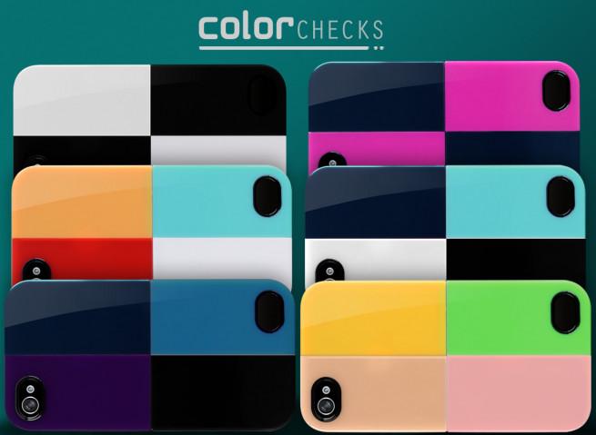 Coque iPhone 4/4S Color Checks Case