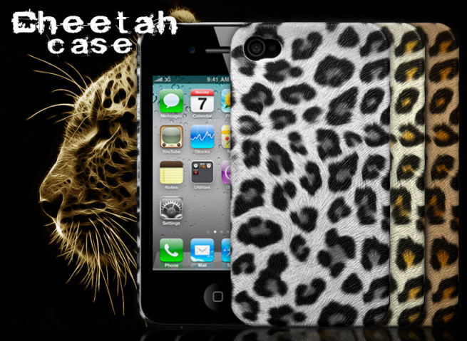 Coque iPhone 4/4S Cheetah Case