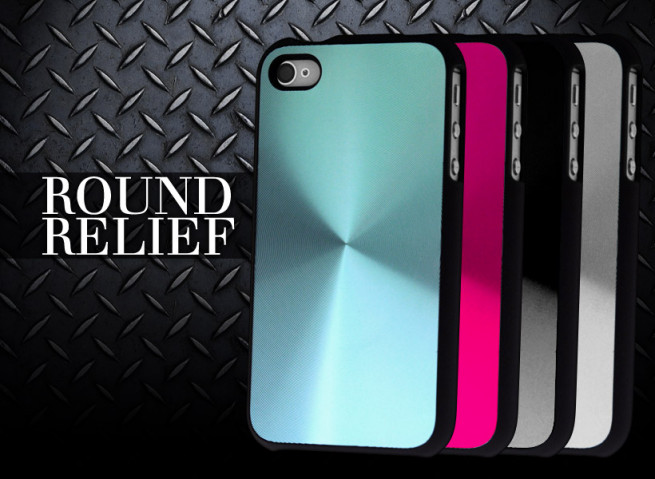 Coque iPhone 4/4S Round Relief