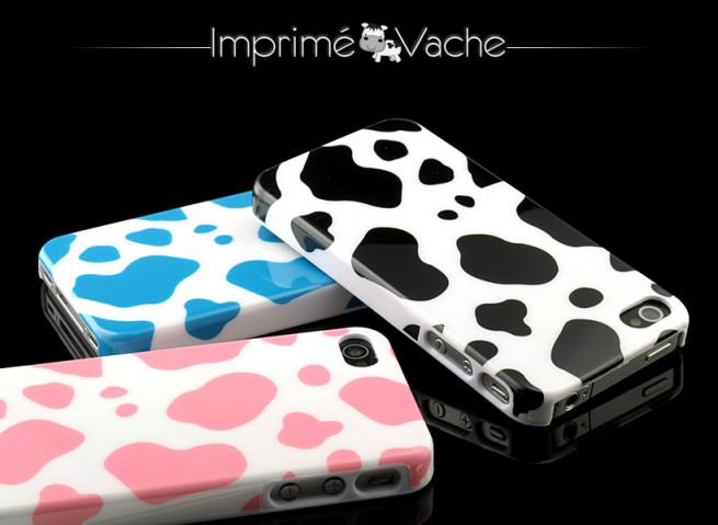 Coque iPhone 4/4S Imprimé Vache