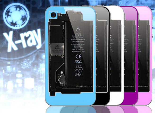 Façade arrière transparente iPhone 4