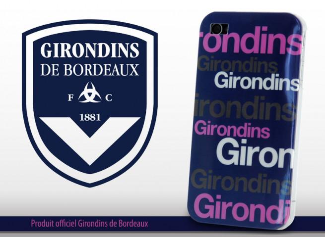 Coque Officielle iPhone 4/4S Girondins de Bordeaux