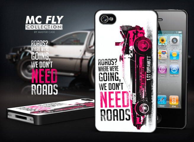 Coque iPhone 4/4S Back To The Future-Modèle 1