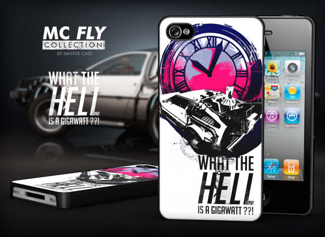 Coque iPhone 4/4S Back To The Future-Modèle 3