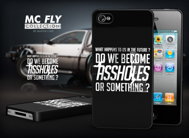 Coque iPhone 4/4S Back To The Future-Modèle 4