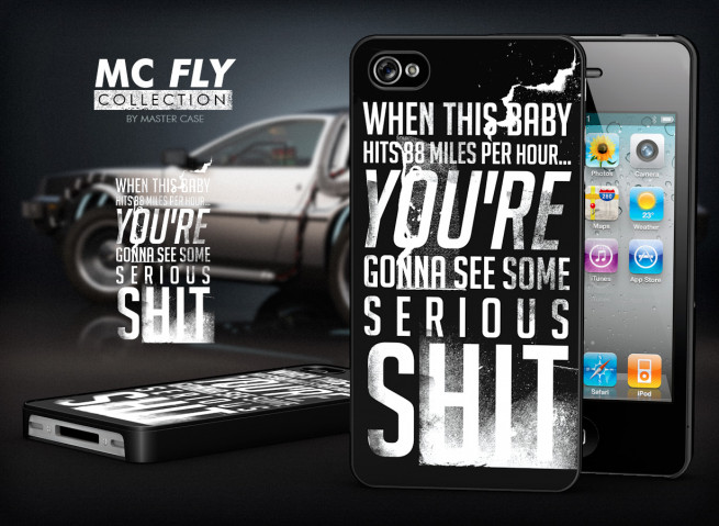 Coque iPhone 4/4S Back To The Future-Modèle 6