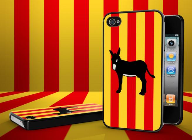 Coque iPhone 4S Drapeau Catalan