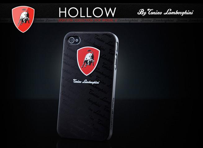 Coque iPhone 4/4S Lamborghini Hollow Series - Shield