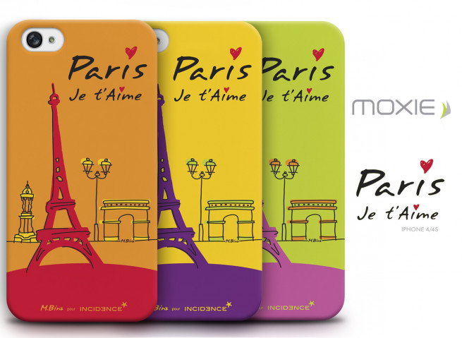 Coque iPhone 4/4S Paris Je t'aime