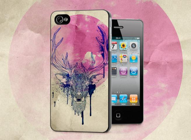 Coque iPhone 4/4S Deer Face